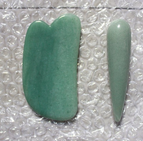 high quality green jade natural stone guasha board and massage stick сервиз обеденный luminarc arty rose 18 предметов