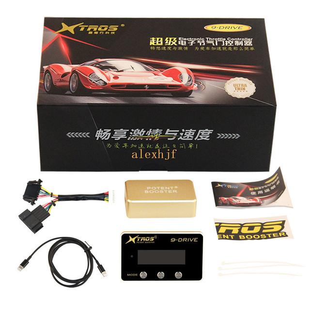 8th 9-Drive TROS Booster Potent Acelerador Eletrônico Controlador de Caso para CITROEN C2 C3 C4 C5 XSARA e PEUGEOT 206 307 407 etc