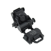 Night Vision L4 G24 Style Mount NVG Mounts Adapters Helmet Accessories Adapters Mounts Metal Material Black Silver Tan