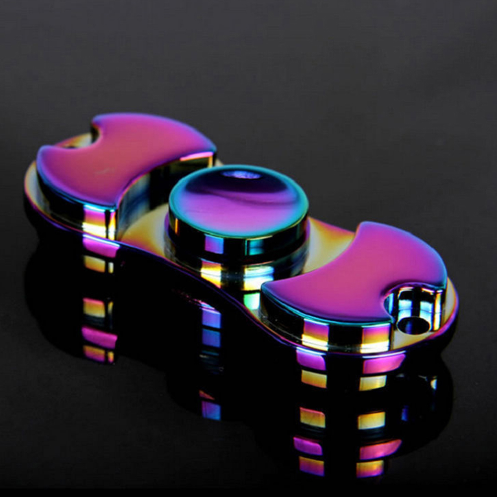Multicolor Finger Spinner Mini Hand Spinner Adult Kid Anxiety Stress Relief Toy