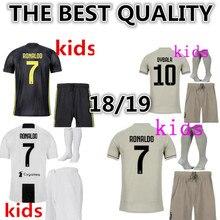 5187098075d 2018 2019 child BOY kids kit Juventus shirt Ronaldo DYBALA football shirt  2018 2019 Juventus kids