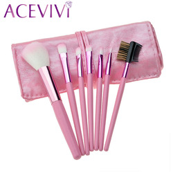 Gift bag of 7pcs makeup brushes set professional cosmetics brushes eyebrow powder foundation eyeshadow maquiagem make.jpg 250x250