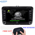 FREE SHIPPING 2016 Newest 2 Din 100% Pure Android For vw Car Dvd Player Gps Navigation Stereo Video Multimedia Capacitive Screen