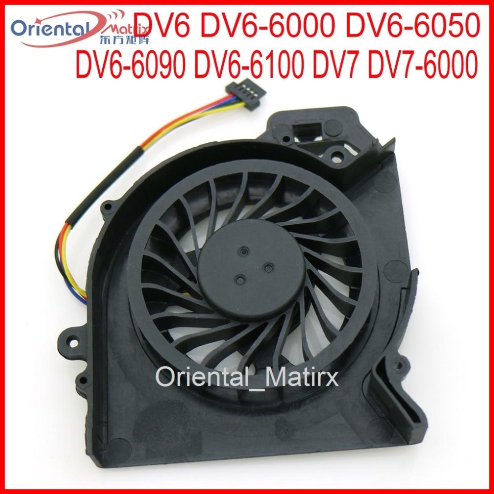 Livraison gratuite marque nouveau mf60120v1-c181-s9a ad6505hx-bee pour hp pavilion dv6 dv6-6000 dv6-6050 dv6-6090 dv6-6100 cpu cooler fan
