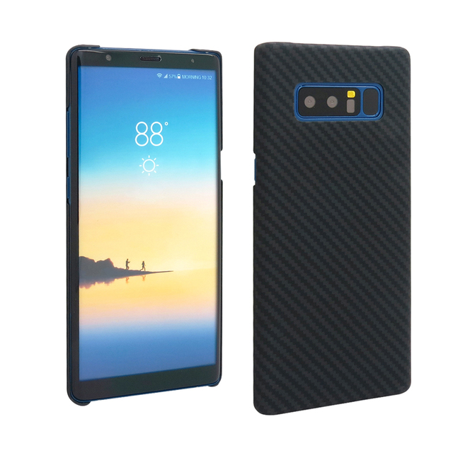 New Arrival Carbon Fiber Case for Samsung Galaxy S8 S8 Plus Aramid Fiber Cover for Samsung S9 S9 Plus Note 8