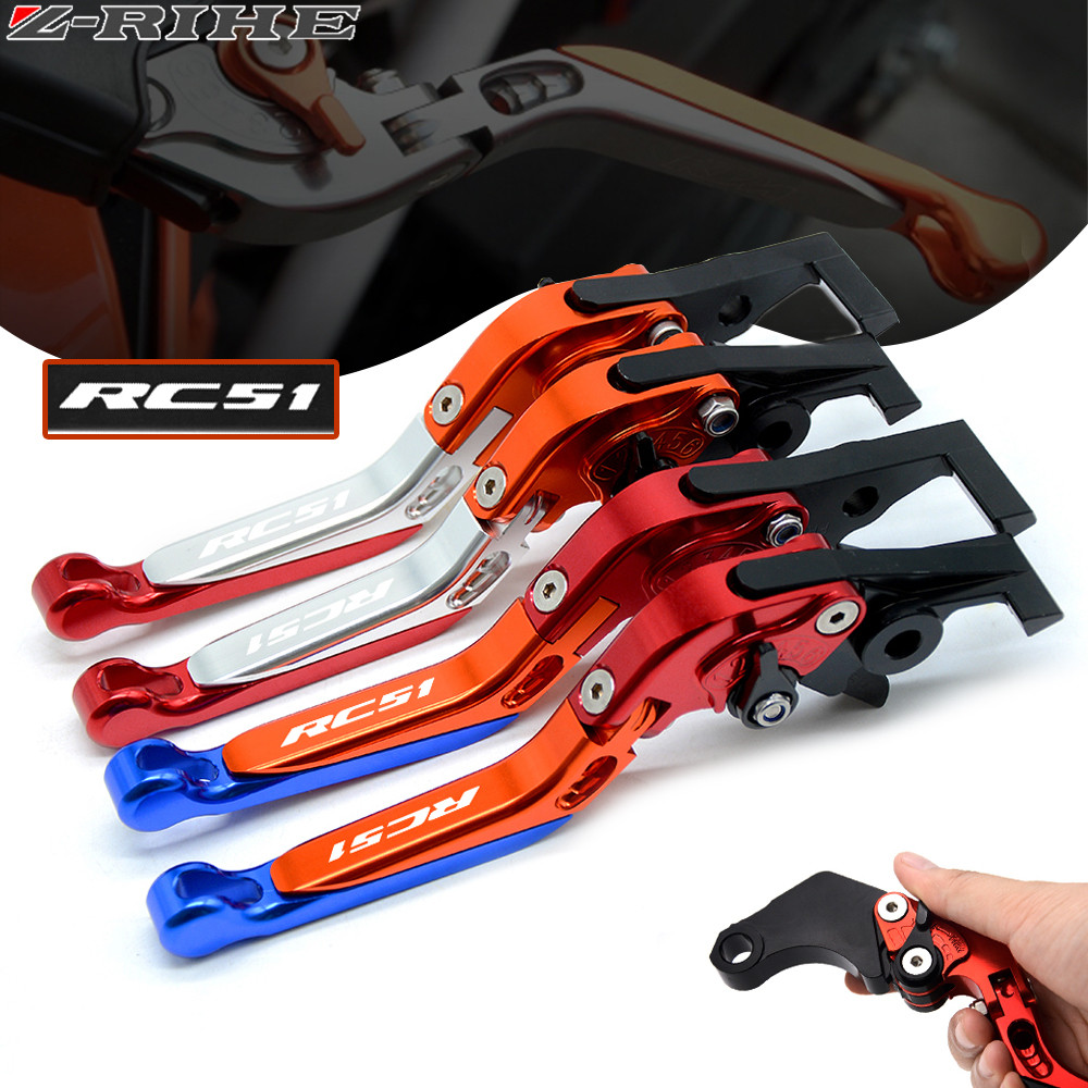 CNC Motorcycle Folding Extendable Clutch Brake Levers For Honda RC51 / RVT1000 SP-1/SP-2 2000 2001 2002 2003 2004 2005 2006 folding extendable brake clutch levers for honda cb919 cb900f hornet 900 2002 2007