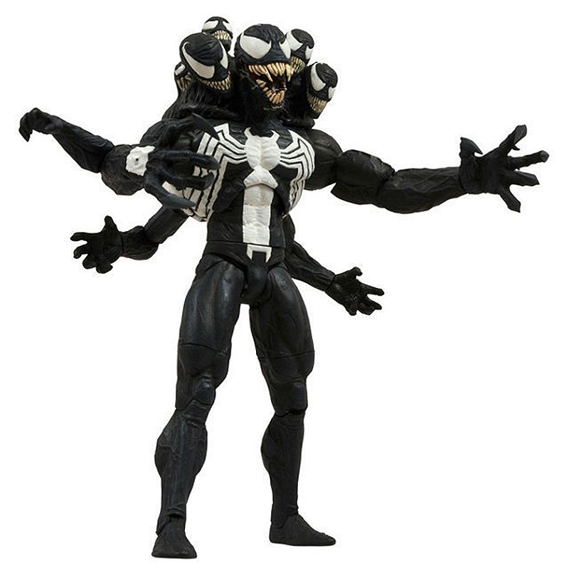 20cm Movable Spider-man Figure Revoltech Series Venom PVC Action Figure Collection Model Doll Toy Kid Adult Gift 2016 new arrival the guardians galaxy mini dancing tree man action figure model toy doll