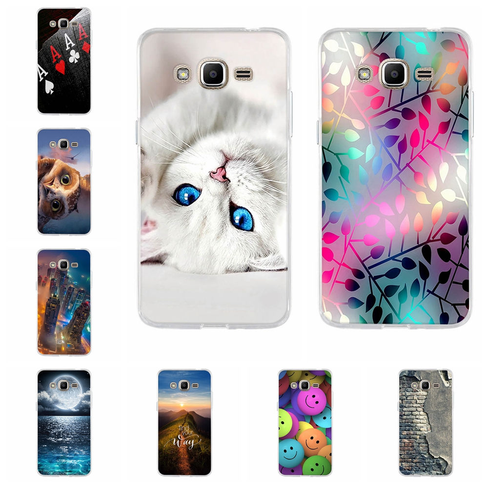 Untuk Samsung Galaxy J2 Prime A5 2016 J1 Case Lembut Tpu Softcase Silicon 3d Kartun Mungil Lucu Galaksi Sm G532f 532f Funda Grand