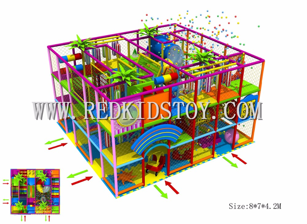 Exported to Czech Republic Nontoxic Playground for Kids CE Approved 160802