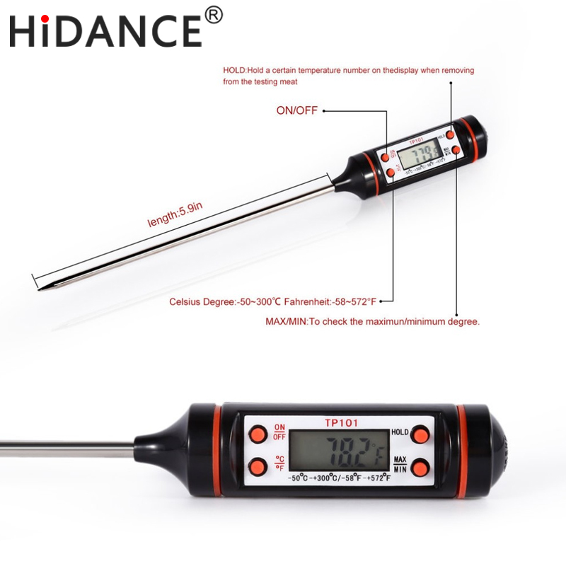 HiDANCE Electronic Digital Thermometer instrumentss