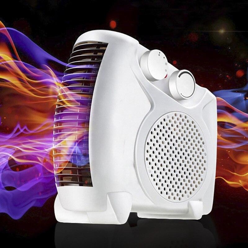 Mini appareil de chauffage à la maison ventilateur de climatisation appareil de chauffage électrique Portable petite Machine à fil de chauffage solaire Micro ventilateur de vent chaud en hiver