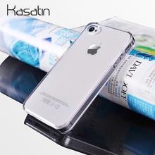 85c7d03d709 Kasatin claro funda para PC para iPhone 5 5G 5S 6 S 6 7 8 Plus X Xr XS.  funda de teléfono móvil de plástico transparente Ultra d.