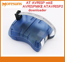Бесплатная доставка программист на AVRISP MKII avrispmkii ATAVRISP2 загрузчик коммутационной матрицы (совместим с оригинал) Поддержка для atmel студия 4/5/6/7 IC