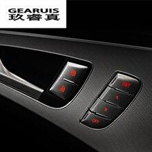 Автомобильный стиль, разблокировка двери автомобиля, кнопка регулировки памяти, декоративная крышка, Накладка для Audi A6 C7, автомобильные аксессуары для интерьера