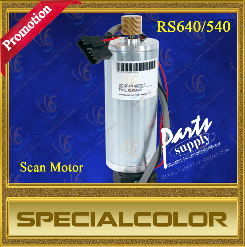 One -Year Warranty!! Compatible DX4 Solvent Scan motor for Roland RS-540/RS-640 printer motor jw7114 370w 1400 turn induction motor warranty for one year