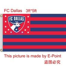 USA MLS FC Dallas hanging decoration Flag 3ft*5ft (150cm*90cm)