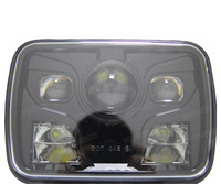VOSICKY 5x7 Auto Square Led Headlamp 5x7 Inch Led Truck Headlight 6x7 High Low Beam Square
