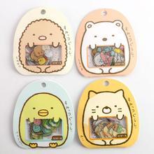 1 упаковка = 50 шт Япония посылка прозрачные декоративные клейкие стикеры 9*10 см WJ01
