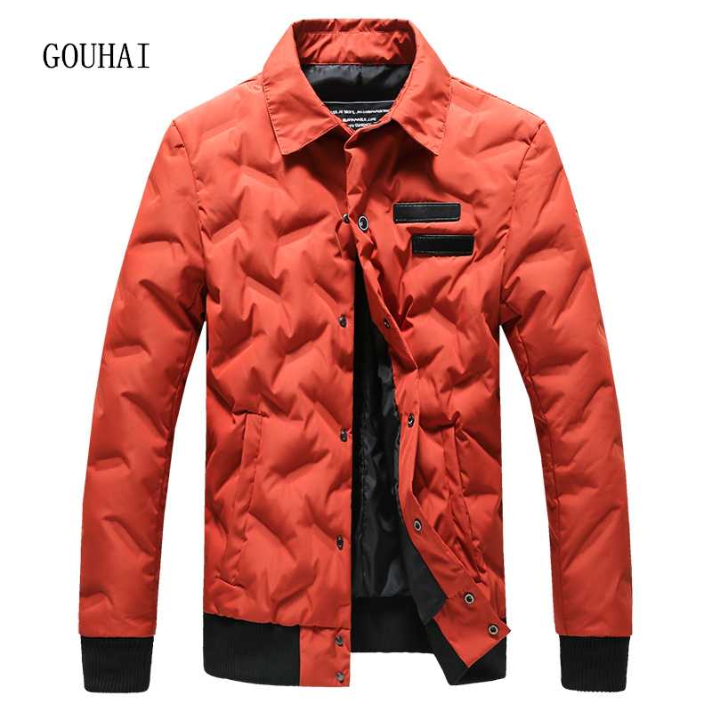 2017 New Solid Light Down Men Feather Jacket Male Parka Homme Winter Jacket Mens White Duck Down Jacket Men Coat Top Quality 5XL top quality white duck down feather filler bed mat 100