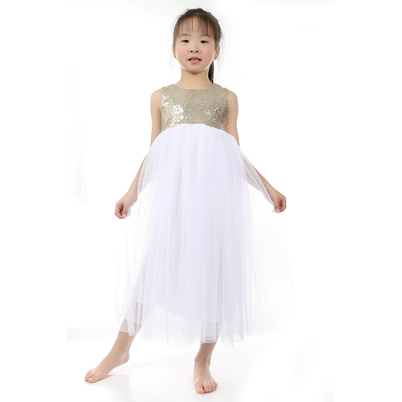 5 piece lot bulk flower girl dress baby dresses country flower girl gold dress kids