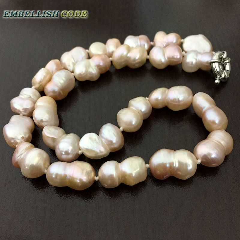 sku freshwater of store pearls natural peach ropes doubled