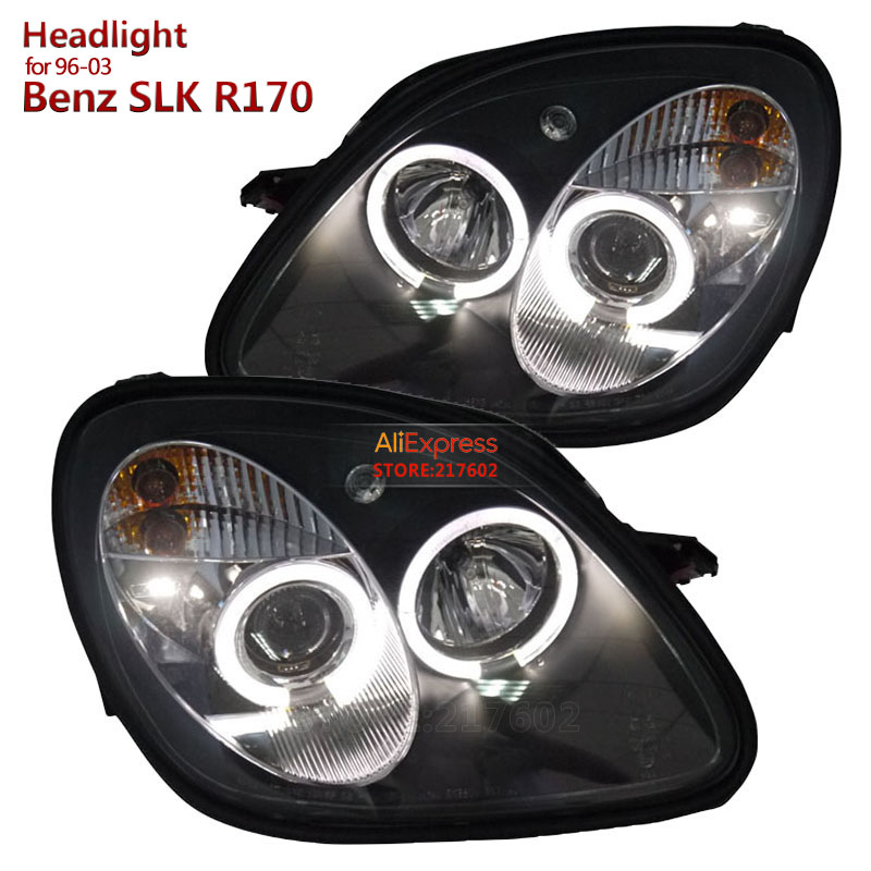 Mercedes SLK R170 Red 4-LED Xenon Bright Side Light Beam Bulbs Pair Upgrade