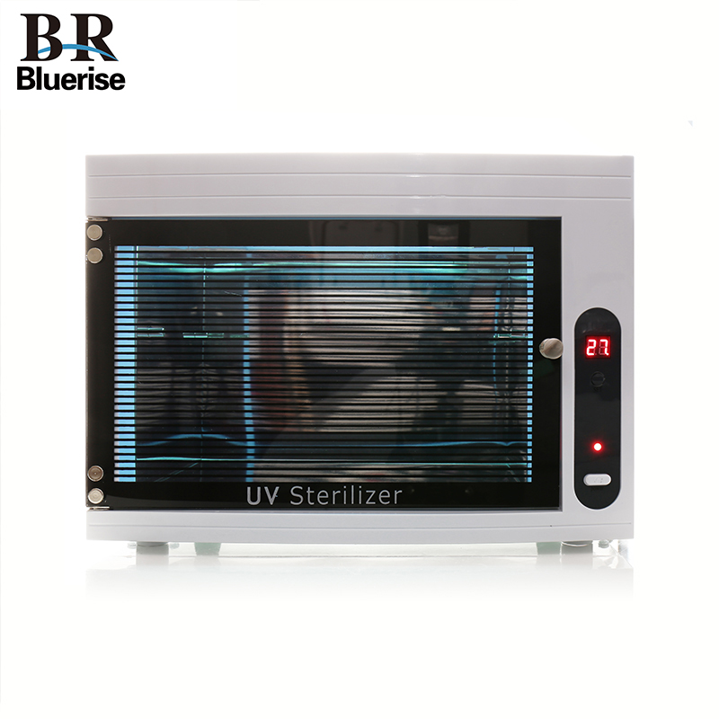 UV Sterilizer Manicure Nail Tools Sterilizer Box Sterilization Disinfection Cabinet Beauty Salon Nail Art Equipment 220V