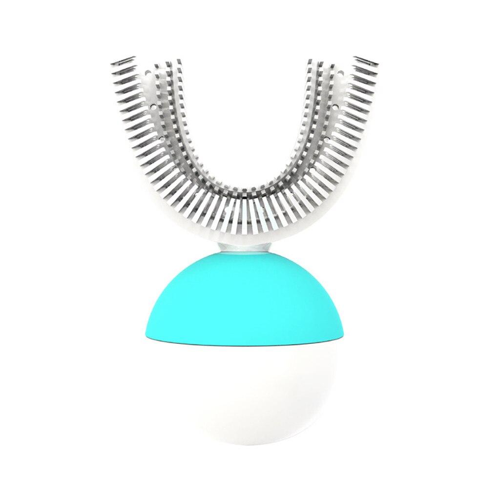 Brosse à dents électrique pour adultes 360 mise à niveau Rechargeable automatique brosse à dents blanchiment des dents FDA/IPX7 charge sans fil F4.11 - 4