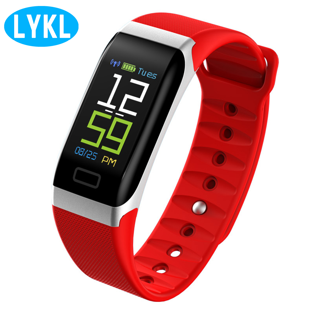 LYKL <font><b>R7</b></font> Bluetooth V4.0 Waterproof <font><b>Smart</b></font> Bracelet Remote Camera Call SMS Message <font><b>Smart</b></font> <font><b>Watch</b></font> Band Sleep Fitness Tracker Wristband image