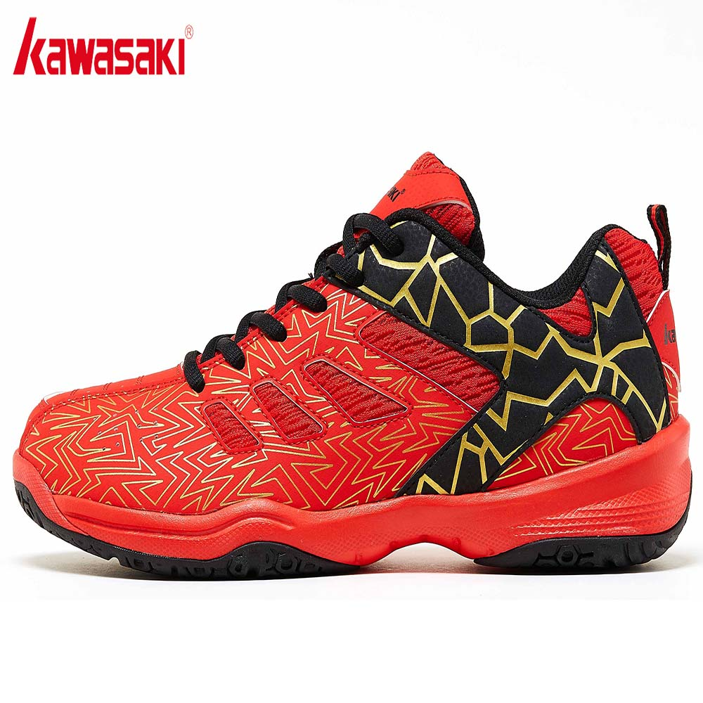 Kawasaki Men Badminton Shoes Professional Sports Shoes for Women Breathable Zapatillas Indoor Court Sneakers K 075