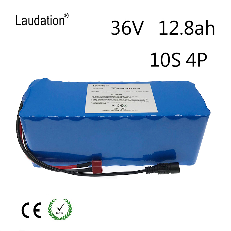 Electric bicycle battery pack 18650 Li-Ion Battery 10S 4P 36V 12ah 500W High Power and Capacity 42V Motorcycle Scooter with BMS