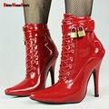 New outono e primavera mulheres botas ankle boots sensuais com bloqueio DWT CD TV Moda Ankle Boots