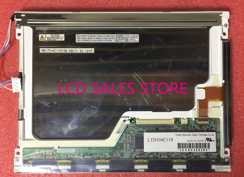 ORIGINAL  LTD104C11S LTD104C11F  LTD104C11U,LTD104C11 10.4  INCH   LCD DISPLAY SCREEN TFT CCFL 640*480