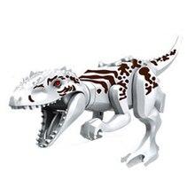 Branco Mini Modelos de Dinossauros Tiranossauro Rex Blocos DIY Única Venda Blocos Meninos Brinquedos Para As Crianças brinquedos de Presente