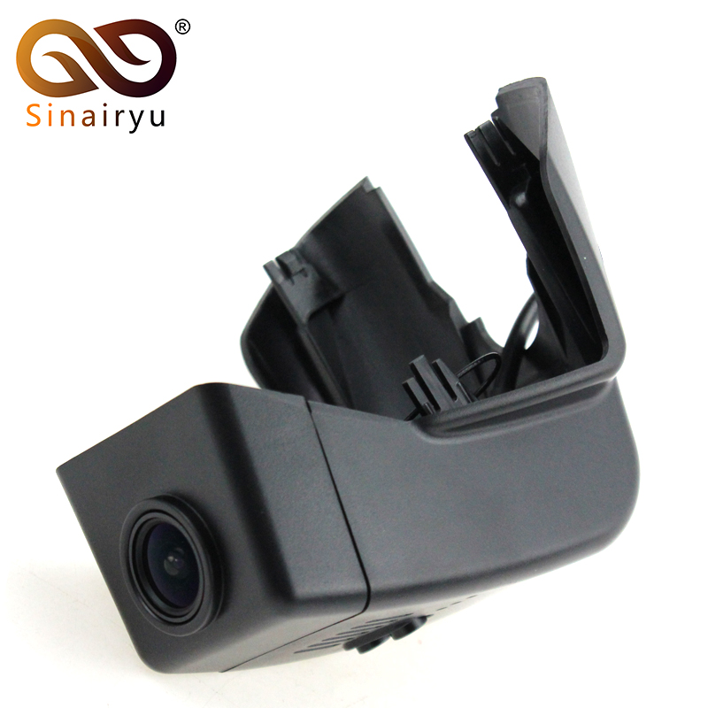 Sinairyu Car WiFi DVR Driving Video Recorder For Volvo XC90 2015 2016 2017 Front mini Camera Black Box Dash Camera image