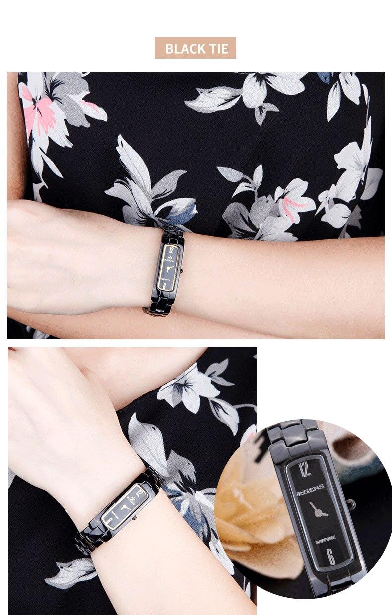 Γνήσια γυναικεία κεραμικά ρολόγια - Γυναικεία ρολόγια - Φωτογραφία 6