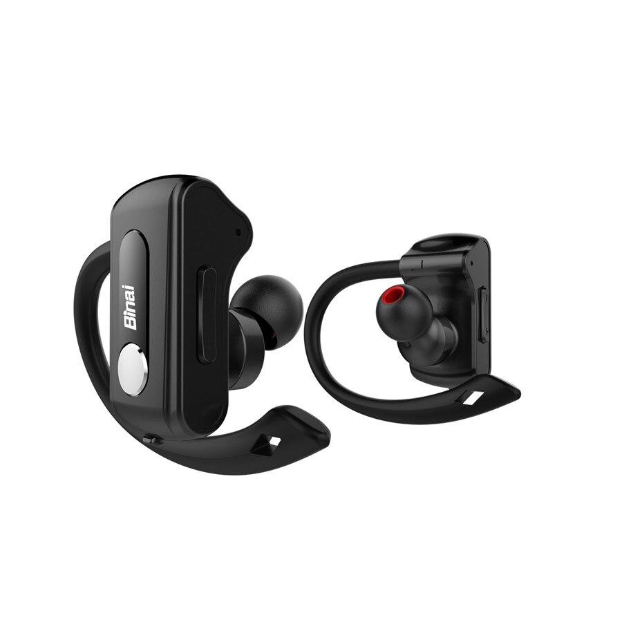 BINAI T88 IPX4 Waterproof Handsfree Stereo Sport Headset Wireless Bluetooth Earphone Headphone for Iphone for Xiaomi binai sport bluetooth earphone with microphone stereo wireless earbuds bluetooth headset ipx4 waterproof for iphone for one plus