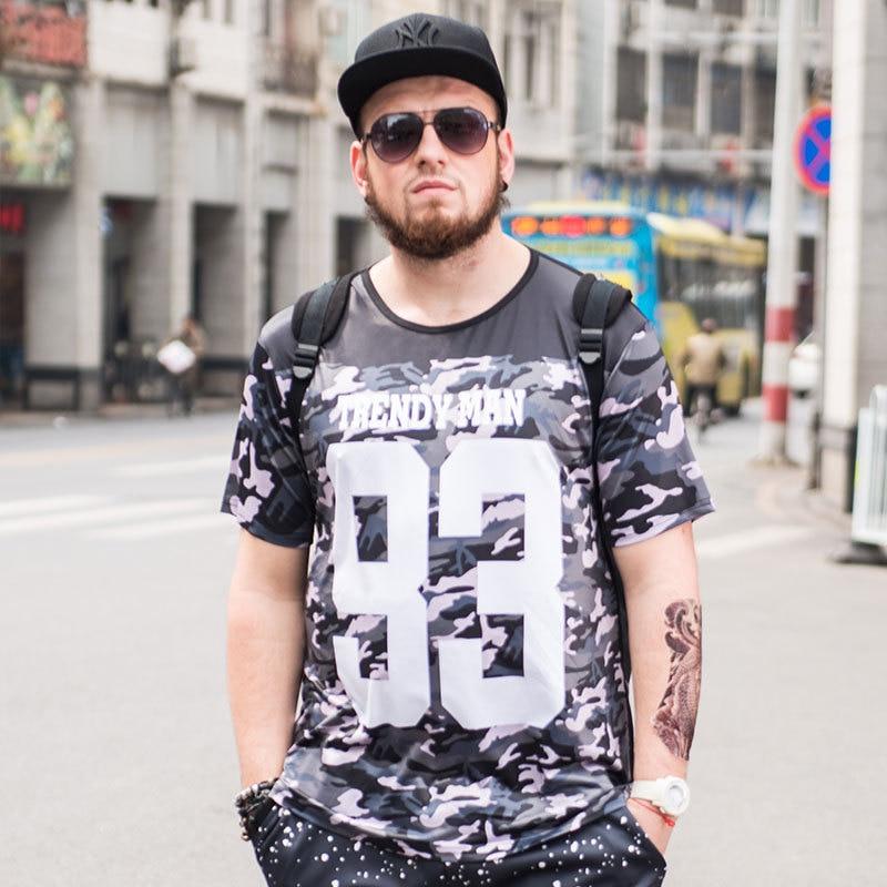 Tide бренд большого размера мужская летняя камуфляжная свободная футболка с коротким рукавом Мужская Плюс Размер Мужская состранительная Ра