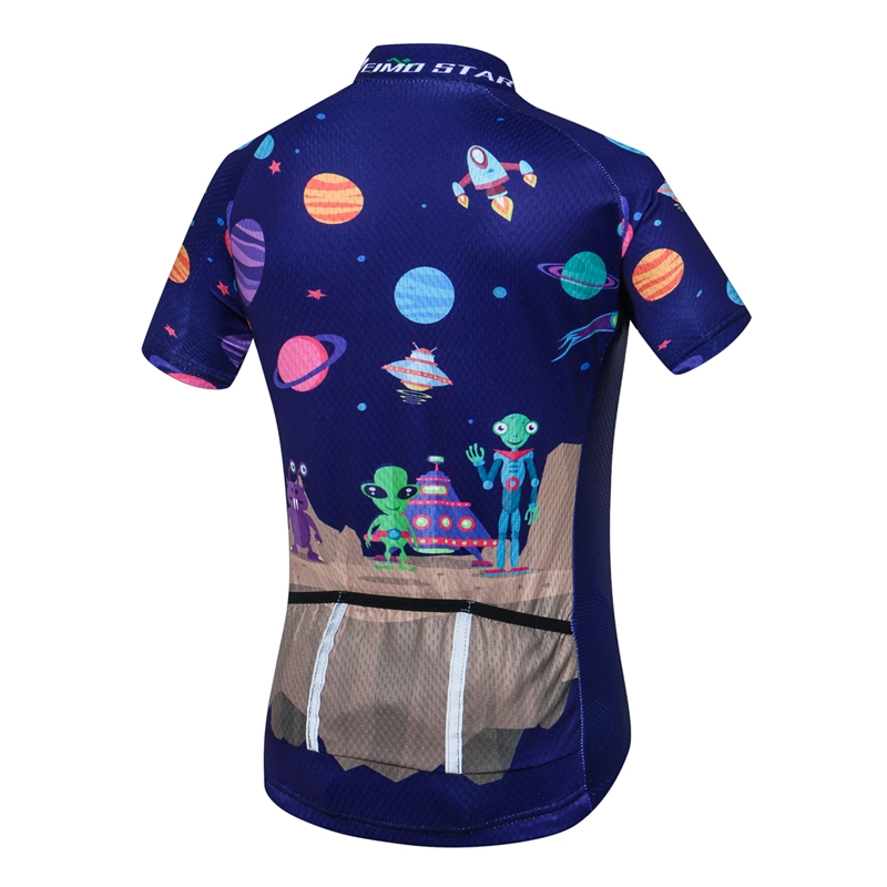 8ca8520eb Breathable Quick Dry Kids Cycling Jersey Tops Short Sleeve Children Bike  Clothing Boys Girls Bicycle Shirts Wear Ropa Ciclismo