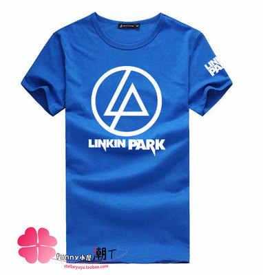 2017 Nuovo Arrivo tempo Limitato-Charta Linkin Park Roccia Streetwear Cotone T-Shirt Manica Corta Estate felpa Parkt Lp