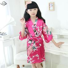 YAUAMDB/Пижамы для девочек весна-осень От 3 до 9 лет Детская одежда для сна Длинные рукава принт одежда цветы v-образным вырезом одежда y21
