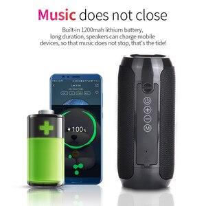 Image 2 - TG117 Bluetooth haut parleur extérieur étanche Portable sans fil colonne haut parleur boîte Support TF carte FM Radio entrée Aux