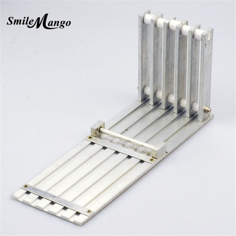 цены  SmileMango 1 set 5 Way SMT SMD Feeder SMT SMD Components for DIY Prototype Pick Place Placement Machine Feeder Rack Manual Feed