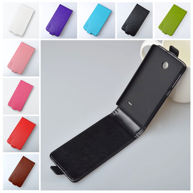 new arrival e4fbf 5b8bf US $4.95 |J&R Brand Leather Case For Nokia X Dual SIM A110 Flip Cover  Vertical Magnetic High Quality 9 Colors Free Shipping-in Flip Cases from ...