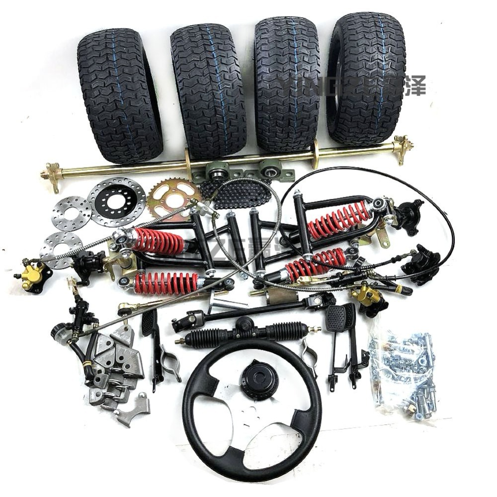 Learned Go Kart Karting Atv Utv 1m Rear Axle Steering Gear Rack Pinion Swingarms Tie Rod Steering Wheel Brake Pump With 6 Inch Wheel Atv,rv,boat & Other Vehicle