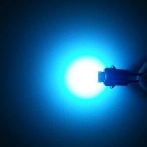 Image 4 - Wljh 1x canbus cob t10 led noエラーw5w ledオートパーキングライトインテリアライセンスプレートsidemarker電球ホワイトブルーled車ライト