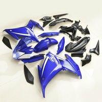 Мотоцикл ручной работы ABS обтекатель кузова Набор для Yamaha FZ6R FZ 6R 2009 2012 10 11 синий