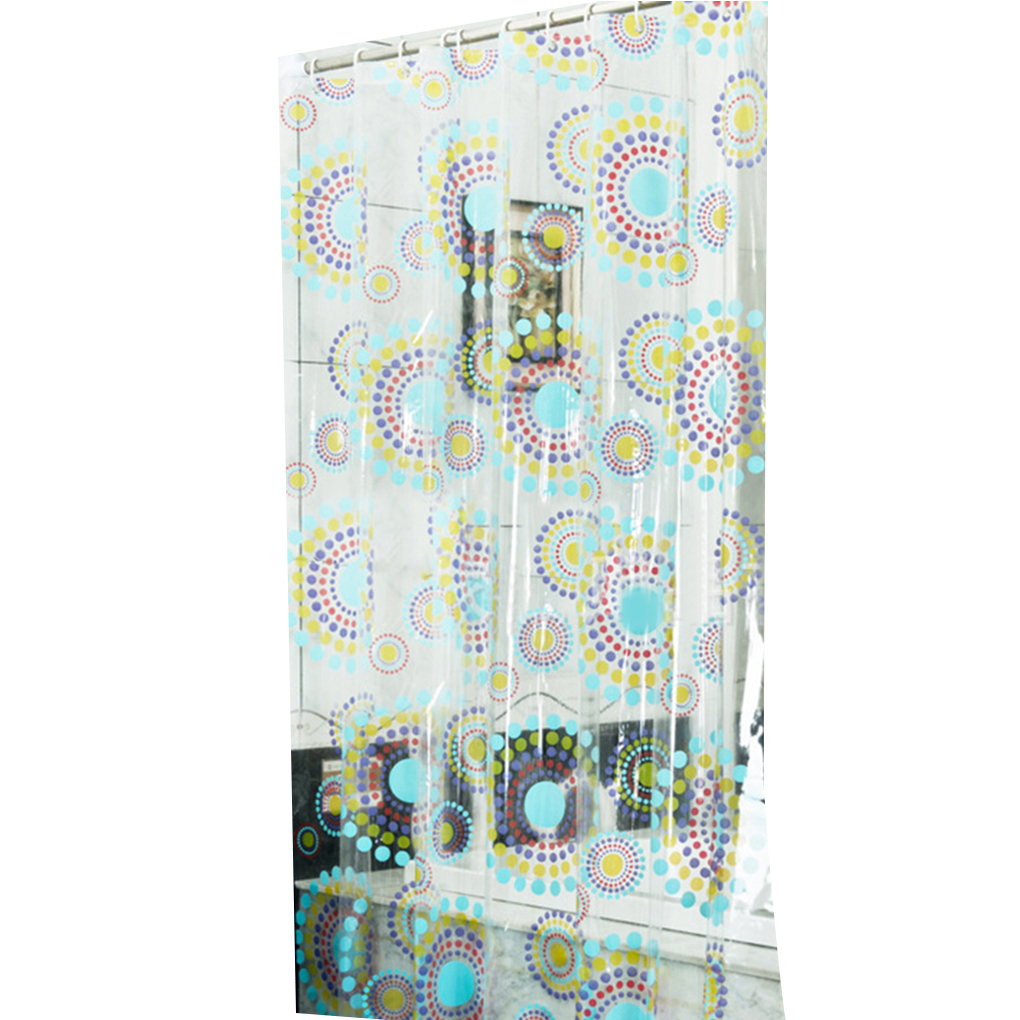 Rainforest shower curtain - Work Well Circle Waterproof Pvc Transparent Shower Curtain Anti Mildew Thick Bath Curtain China