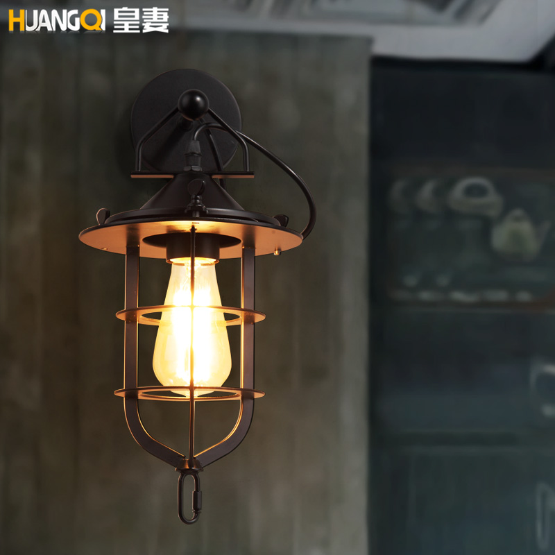 цены The wife of Loft2RH American country Vintage industrial wind garden living room restaurant bar dock wall