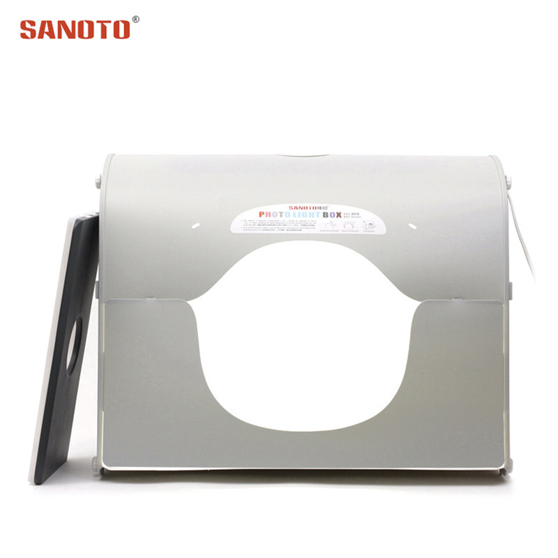 Sanoto Professionele fotografische verlichting Softbox Photo Photography Studio led-foto Light Box k60 voor 220 / 110V EU US UK AU